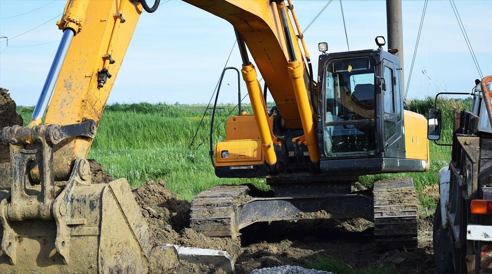 Renta de maquinaria para construcción